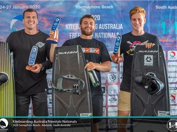 Team Naish Storms the Podium at Australian Nationals