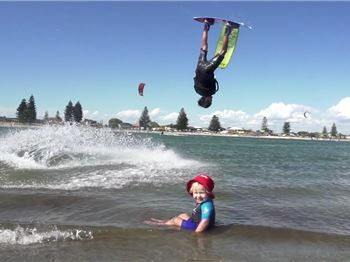Welcome to the Other Side - Incredible Freestyle in WA - Kitesurfing News
