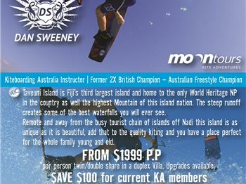 Pro Camp in Fiji with Dan Sweeney - Kitesurfing News