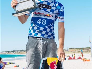 5X World Champion Aaron Hadlow coming to Perth - for a race! - Kitesurfing News