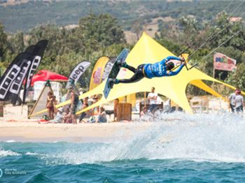 "GKA Kiteboarding ""Air Games"" world tour - first rounds - Kitesurfing News"