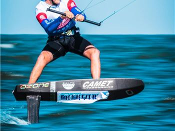 KiteFoil World Series in China  - Day 2