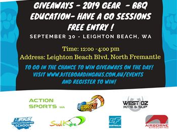 First Kitesurfing expo in Leighton, WA this weekend
